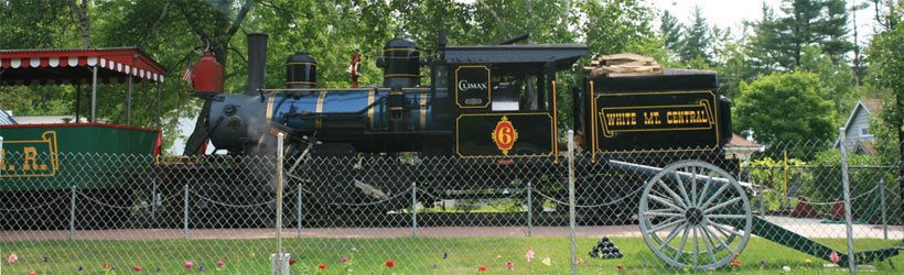 Clark's Trading Post Steam Engine